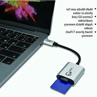 """SIIG USB 2-in-1 Card SD """" Micro Aluminum 5Gbps"""