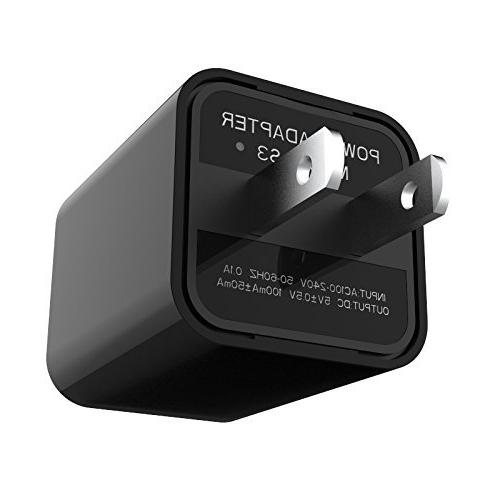 usb wall charger mini security