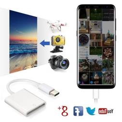 Lightning to SD Card Camera Reader Adapter Cable for Apple i