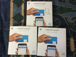 Lot of 3 - Square Readers Reader for Credit Card Mobile Paym