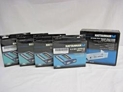 Manhattan 4 USB 2.0 Hi-Speed 2-Port PC Cards & Firewire 5.25