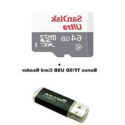 64GB Memory Card for GoPro Hero 4 Black/Silver/Session - San
