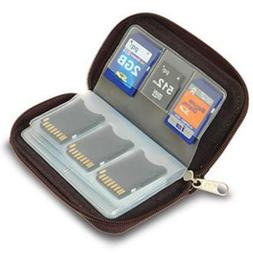 Memory Card Carrying Case - Black