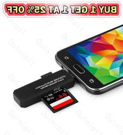 memory card reader micro otg usb 3