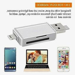 Memory Card Reader Sd Tf Micro Sd Usb Adapter With Lightning