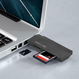 Memory//TF Dual Card Reading USB3.0 Card Reader Universal For Windows//OSX//Linux
