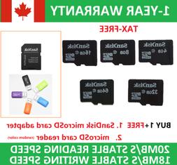 SanDisk Micro SD Card Class10 TF 4GB 8GB 16GB 32GB 64GB SDHC