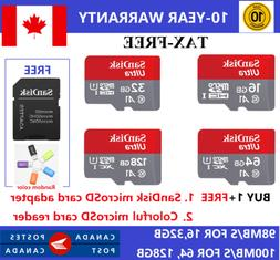 SanDisk Micro SD Class10 TF Memory Card 16GB 32GB 64GB 128GB