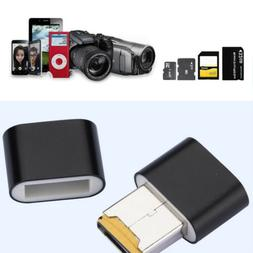 micro sd memory card reader black sdxc