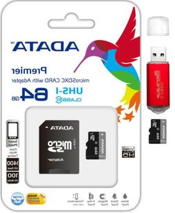 ADATA 64GB Micro SD SDHC SDXC Class 10 Memory Card For GoPro