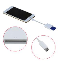 Micro USB to SD Card Camera Reader for Android Phone Tablet