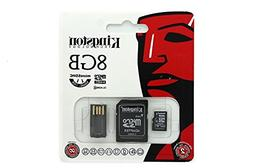 Kingston 8gb Microsdhc adapter with Usb Reader