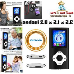 Top Quality MP3 Player 64GB Max LCD Media Video Radio FM Voi