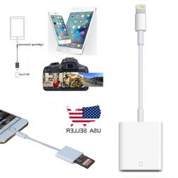 Camera SD Card Reader Adapter Cable for iPhone 6S 7Plus Appl
