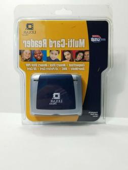 NEW Lexar Media USB 2.0 6-in-1 High Speed Multi-Card Reader