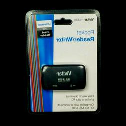 Vivitar Pocket Reader/Writer 50-In-1 Hi Speed Card Reader