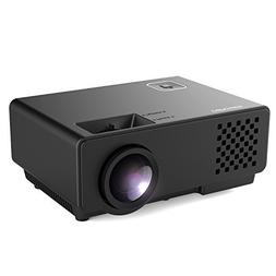 Projector, DBPOWER RD-810 LED Portable Projector, Multimedia