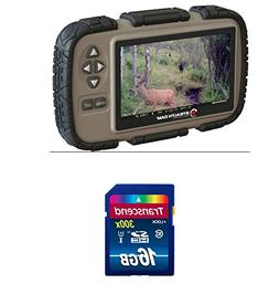 """Stealth Cam SD Card Reader and Viewer with 4.3"""" LCD Screen +"""