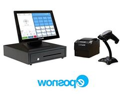 Retail Point of Sale System - Includes Touchscreen PC, POS S