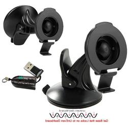 ChargerCity Rigid GripLock Dashboard Windshield Suction GPS