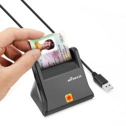 Rocketek Military USB Smart Card Reader Compatible With Wind