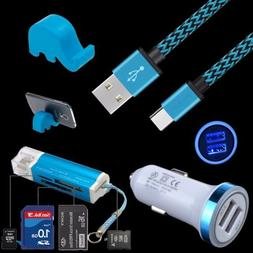 For Samsung Galaxy Note 8 9 S8 Active S9+ A8 Braid Cable Car