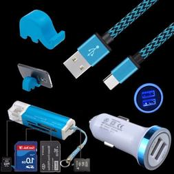 For Samsung Galaxy Note 8 9 S8 Active S9 A8 USB Cable Car Ch