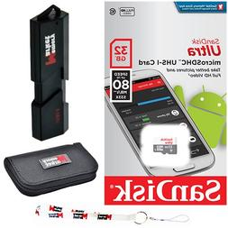 SanDisk Ultra 32GB MicroSD HC Class 10 UHS-1 Mobile Memory C