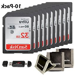 SanDisk Ultra SDHC 32GB UHS-I Class 10 80MB/s, Ritz Gear Car