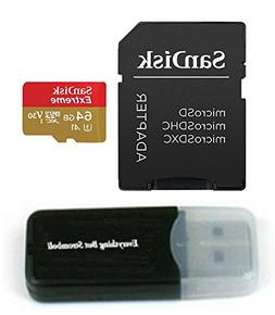 SanDisk 64GB Micro Extreme Memory Card works with Samsung Ga