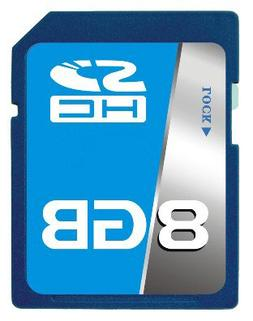 Professional SCT SD SDHC 8GB  Memory Card for Canon Digital