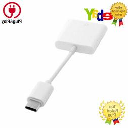 SD Card Memory Reader Camera Cable Adapter for Android Samsu