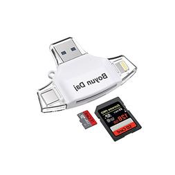Boyun Daj SD Card Reader,Memory Micro SD Card Reader USB Typ