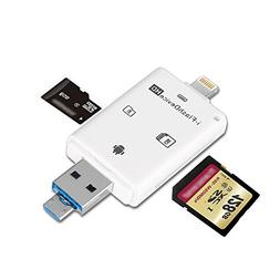 aceyoon SD Card Reader With Lightning / Micro USB / USB 3.0