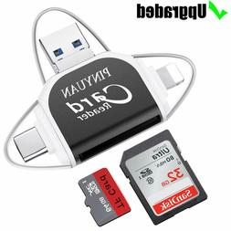 SD Card Reader,Memory Micro SD Card Reader USB Type C Adapte