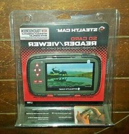 """Stealth Cam SD Card Reader/Viewer *4.3"""" Color LCD Touchscree"""