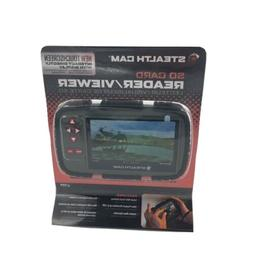 """Stealth Cam SD CARD Reader/Viewer -4.3"""" Color LCD Touchscree"""