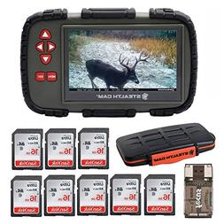 """Stealth Cam SD Card Reader and Viewer with Touch Screen 4.3"""""""