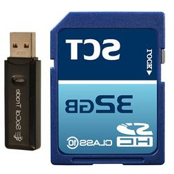 32GB SD Class 10 SCT Ultimate Extreme Speed SDHC Flash Memor