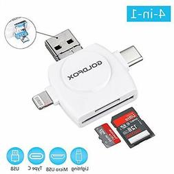 SD Memory Card Readers Reader, Micro TF USB For IPhone IPad