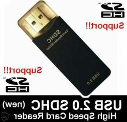 eTECH SD/MMC/SDHC Memory Card Reader/Writer Supports upto 32