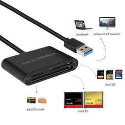 USB SD Card Reader, Unitek USB 3.0 Memory Card Reader Writer