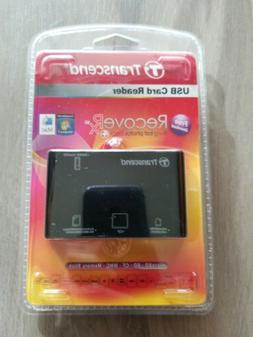 Sealed NIBTranscend P8 15-in-1 USB 2.0 Flash Memory Card Rea
