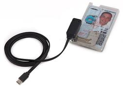 SGTiAll Military USG CAC PIV Smart Card Reader/ID Holder Mag