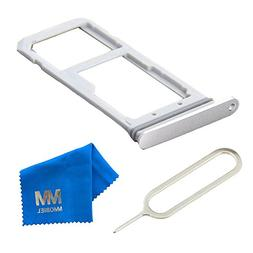 MMOBIEL SIM Card Tray Holder Slot Replacement for Samsung Ga