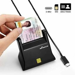 Smart Card Reader Writer Adapter Type C USB Common Access Wi
