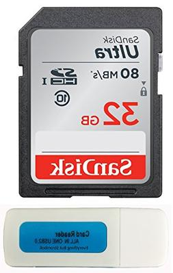 Sony DSCW800 Memory Card SanDisk SD Ultra 80mb/s works with