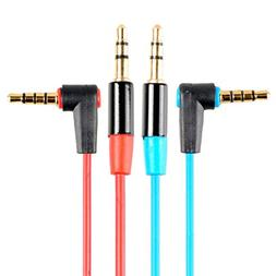 HTTX 3.5mm Stereo Auxiliary Audio Cable Male to Male For iPh