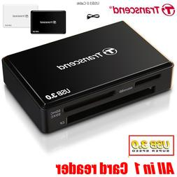 Super Speed <font><b>Transcend</b></font> All in 1 USB 3.0 T