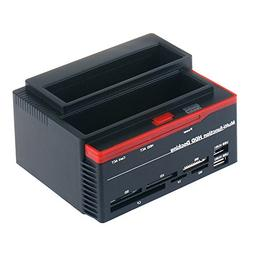 Tccmebius TCC-892U2IS USB 2.0 to SATA IDE Dual Slots Hard Dr